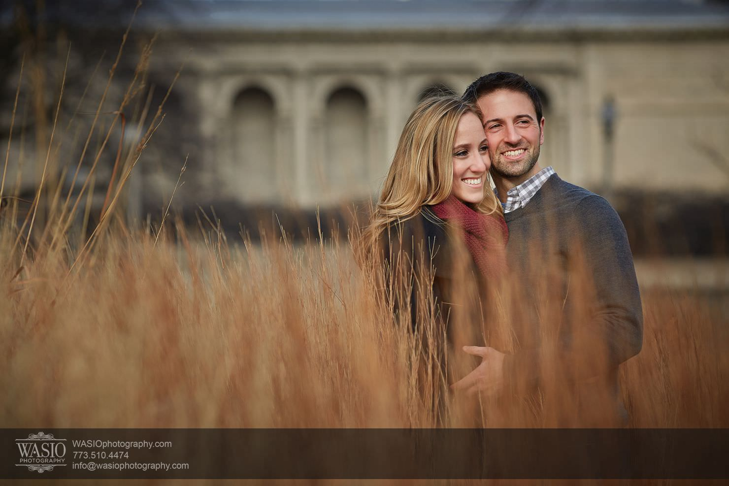 Chicago Winter Engagement – Courtney + Danny