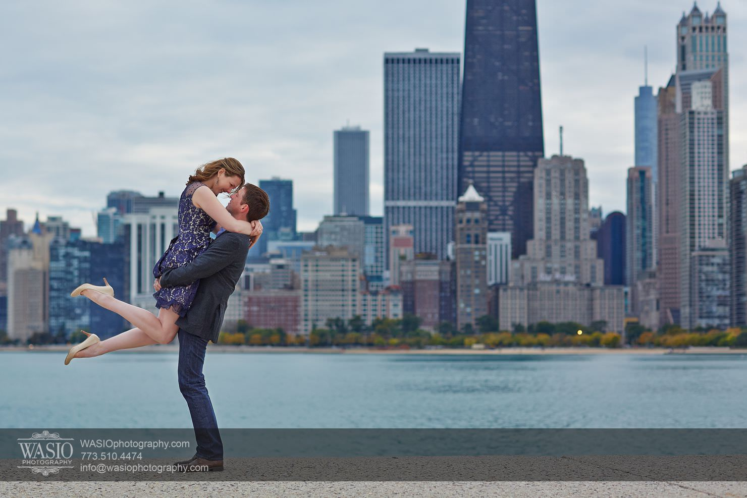 Chicago Fall Engagement – Keri & Chris