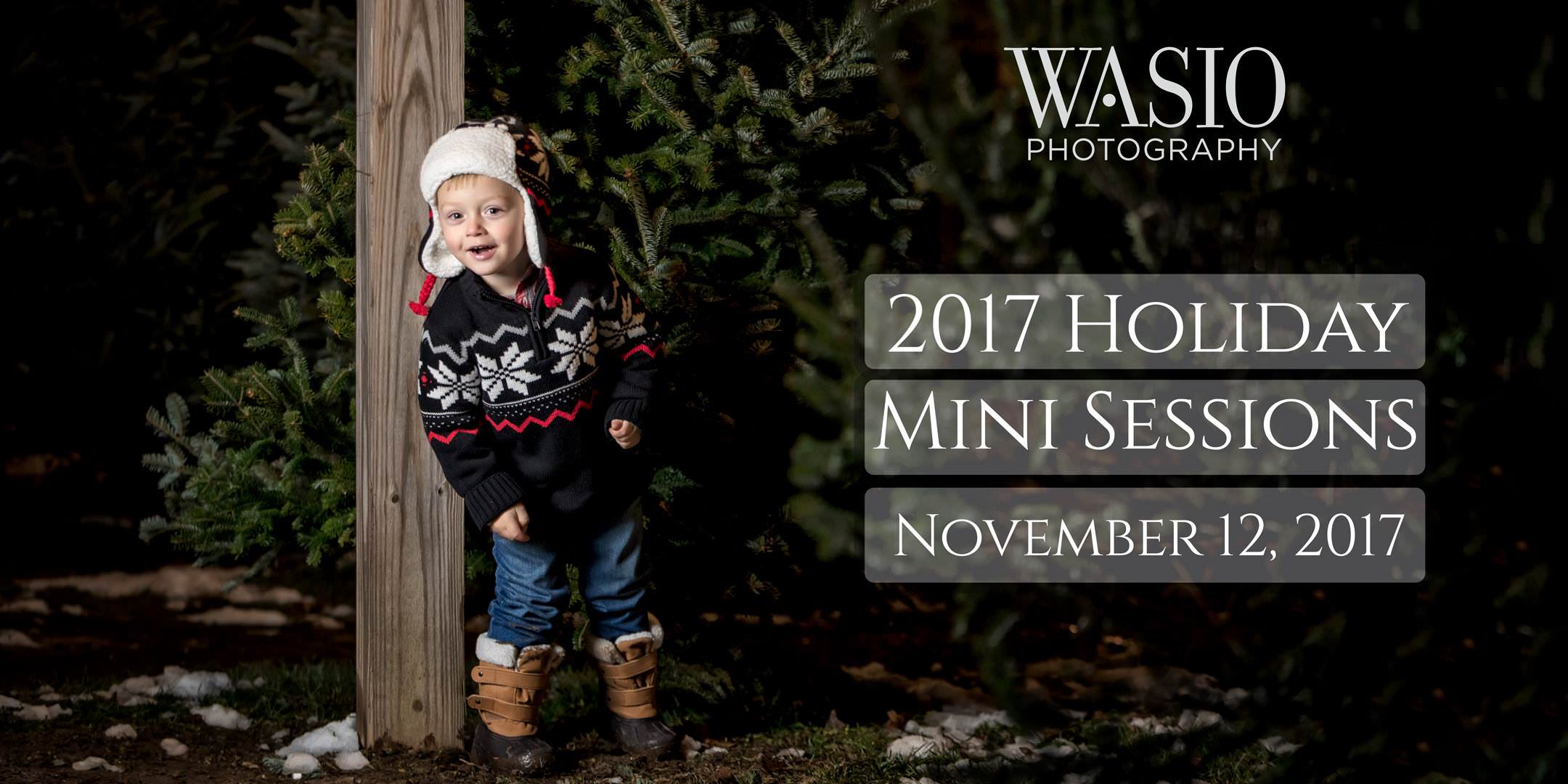 2017 Holiday Mini Sessions – San Diego