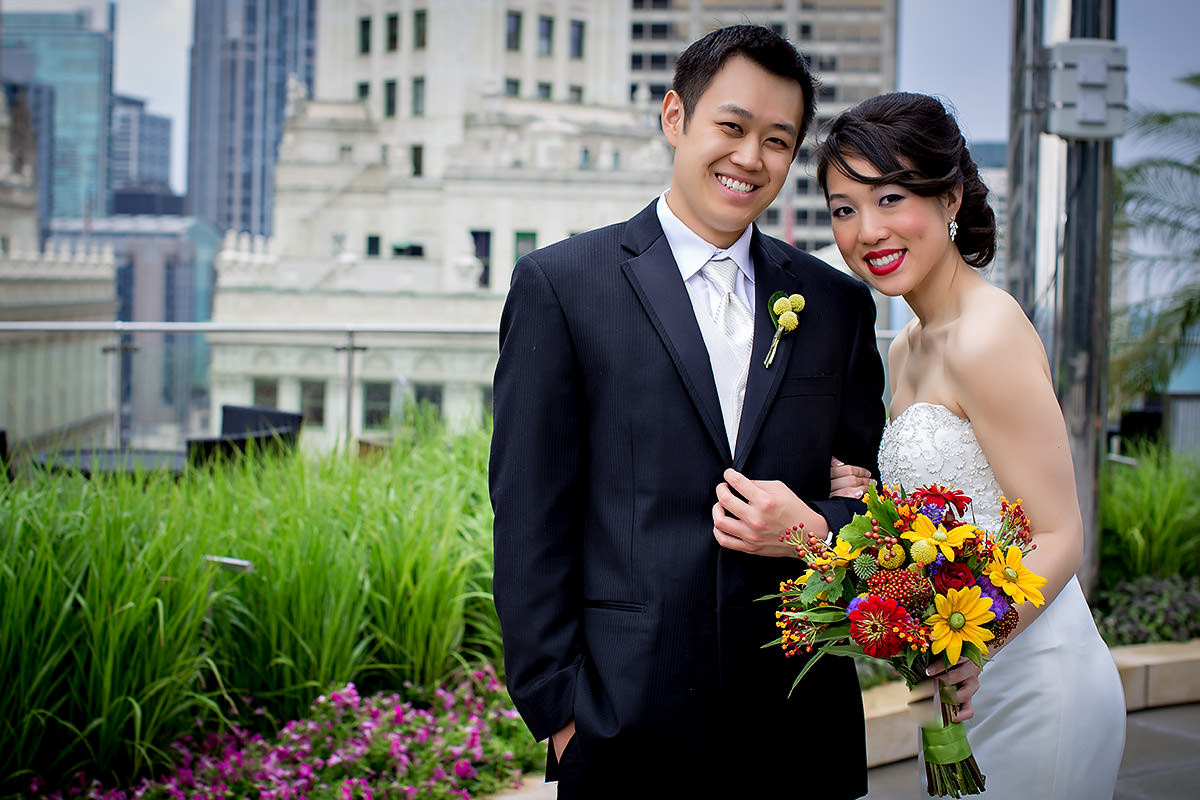 Chicago Hotel Wedding – Trump Tower – Angela + Chris