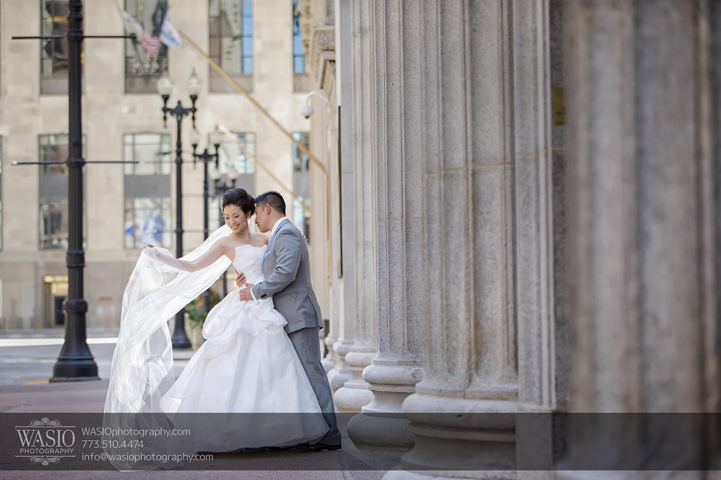 Pazzo's 311 Chicago Wedding – Ayumi + Paul