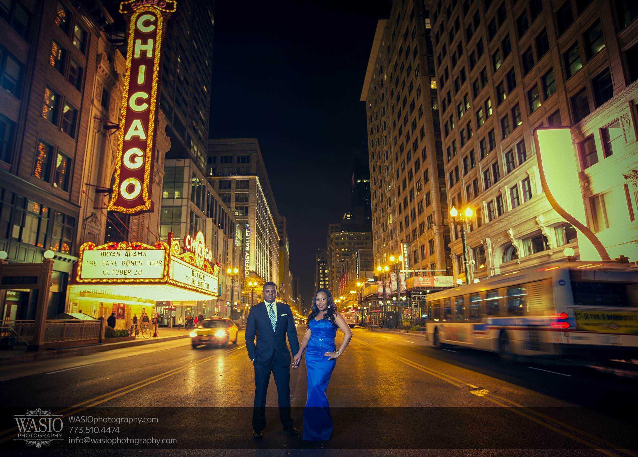 Chicago Engagement Pictures – Laura + James