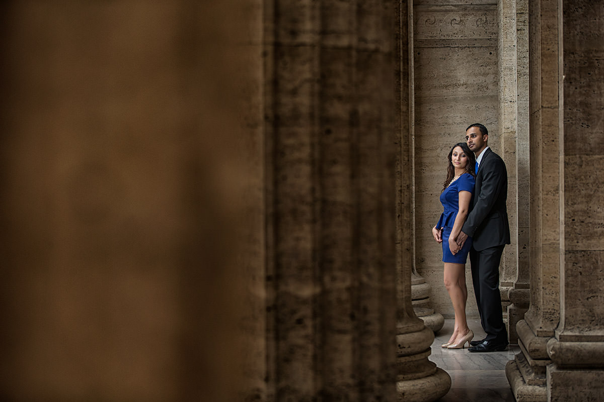 Union Station & Lincoln Park Engagement Pictures – Jamie+Besil