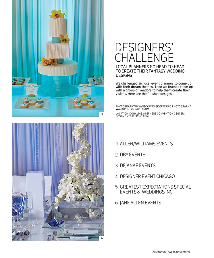 Chicago Wedding Photography Featured in Chicago Style Weddings