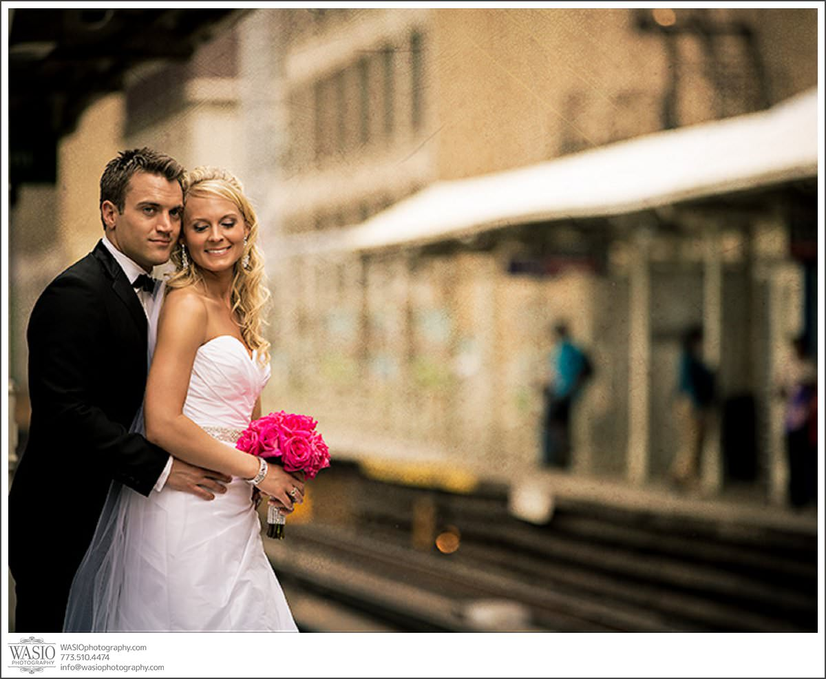 Shedd Aquarium Wedding & Grant Park's Tiffany Garden – Julie & Caleb