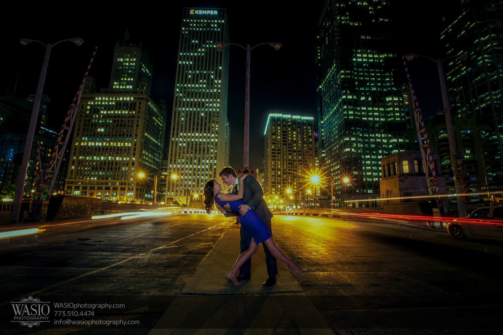 Chicago engagement photos – Catherine + Rob