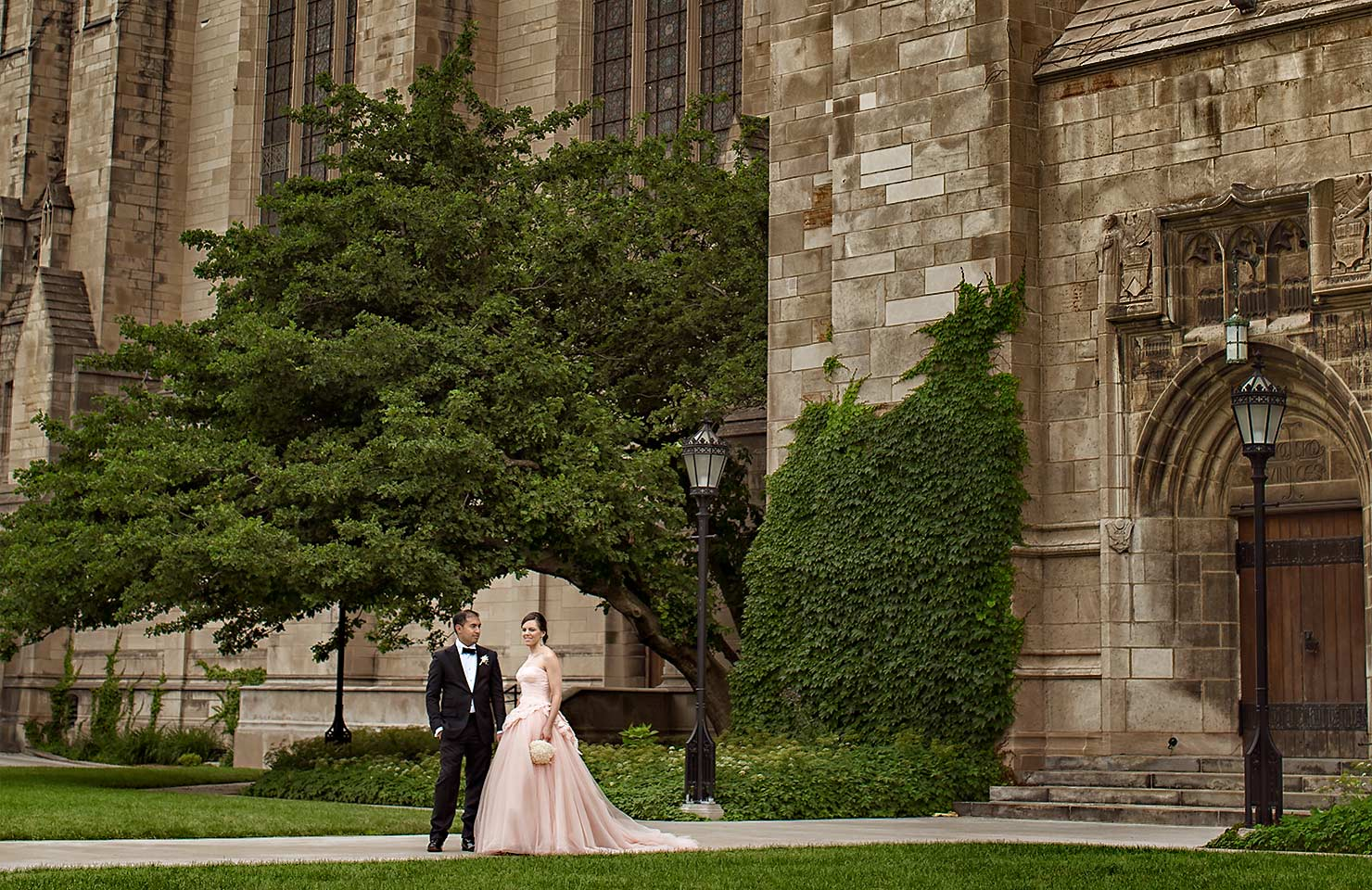 University of Chicago wedding at Smart Museum of Art – Lynn+Satya