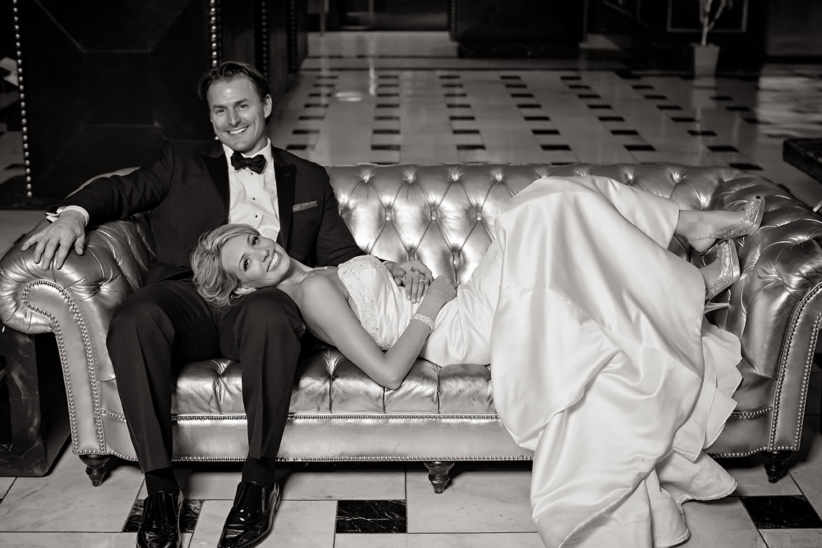 Chicago Wedding at Blackstone Hotel – Jody + Mike