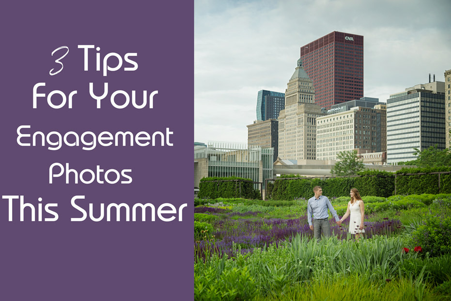 3 Tips For Your Chicago Summer Engagement Photos – Kate & Igor