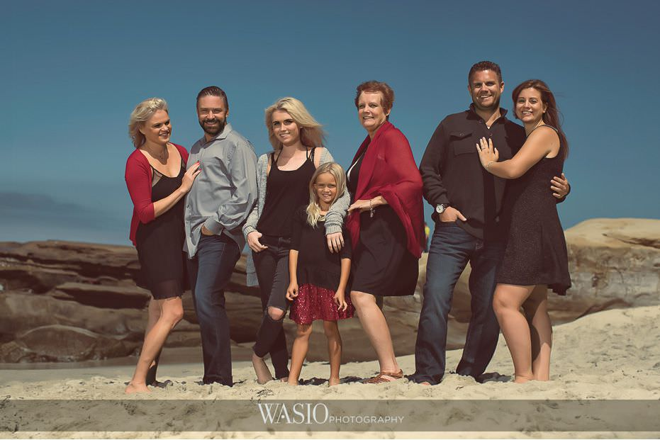 La Jolla Family Photography Session at Windansea Beach
