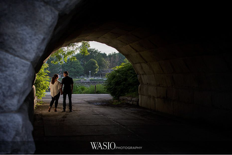 Lincoln Park Engagement Photos – Becca & Gary