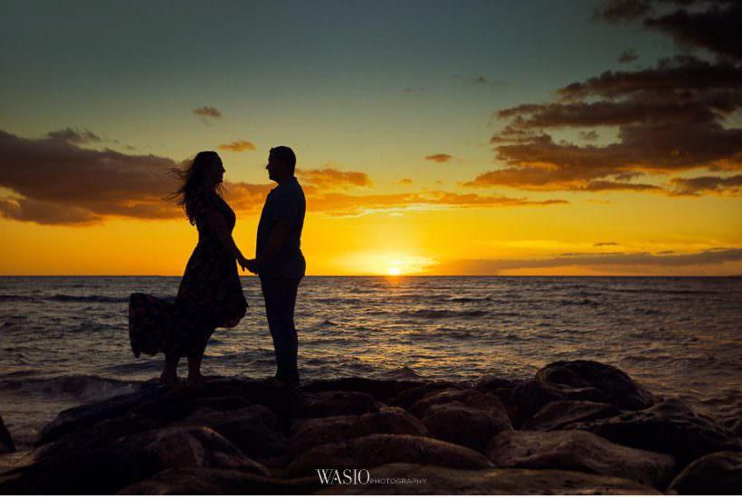 Romantic Maui Engagement Session – Kristen and Frank