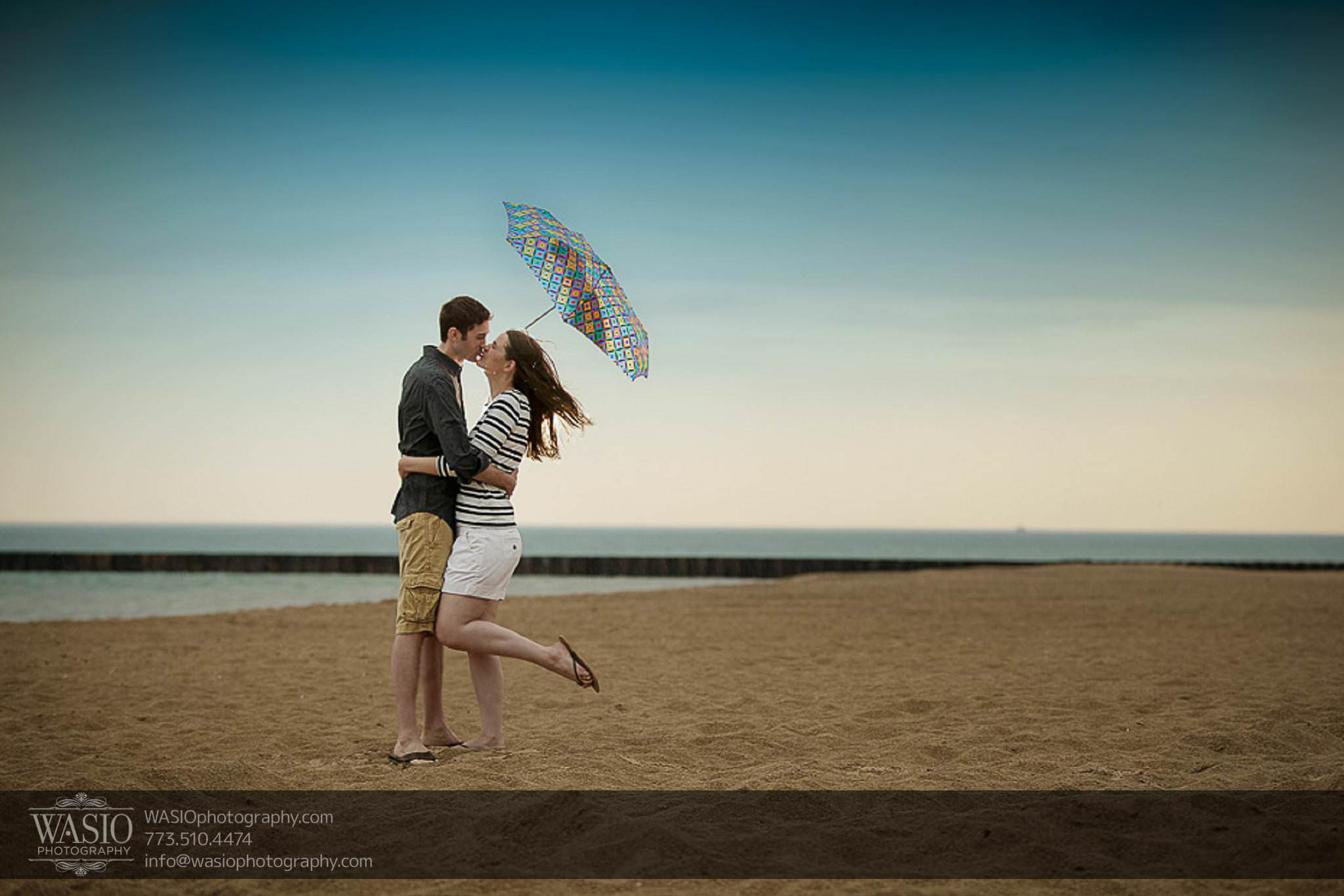 Rogers Park Engagement – Lauren + Jeff