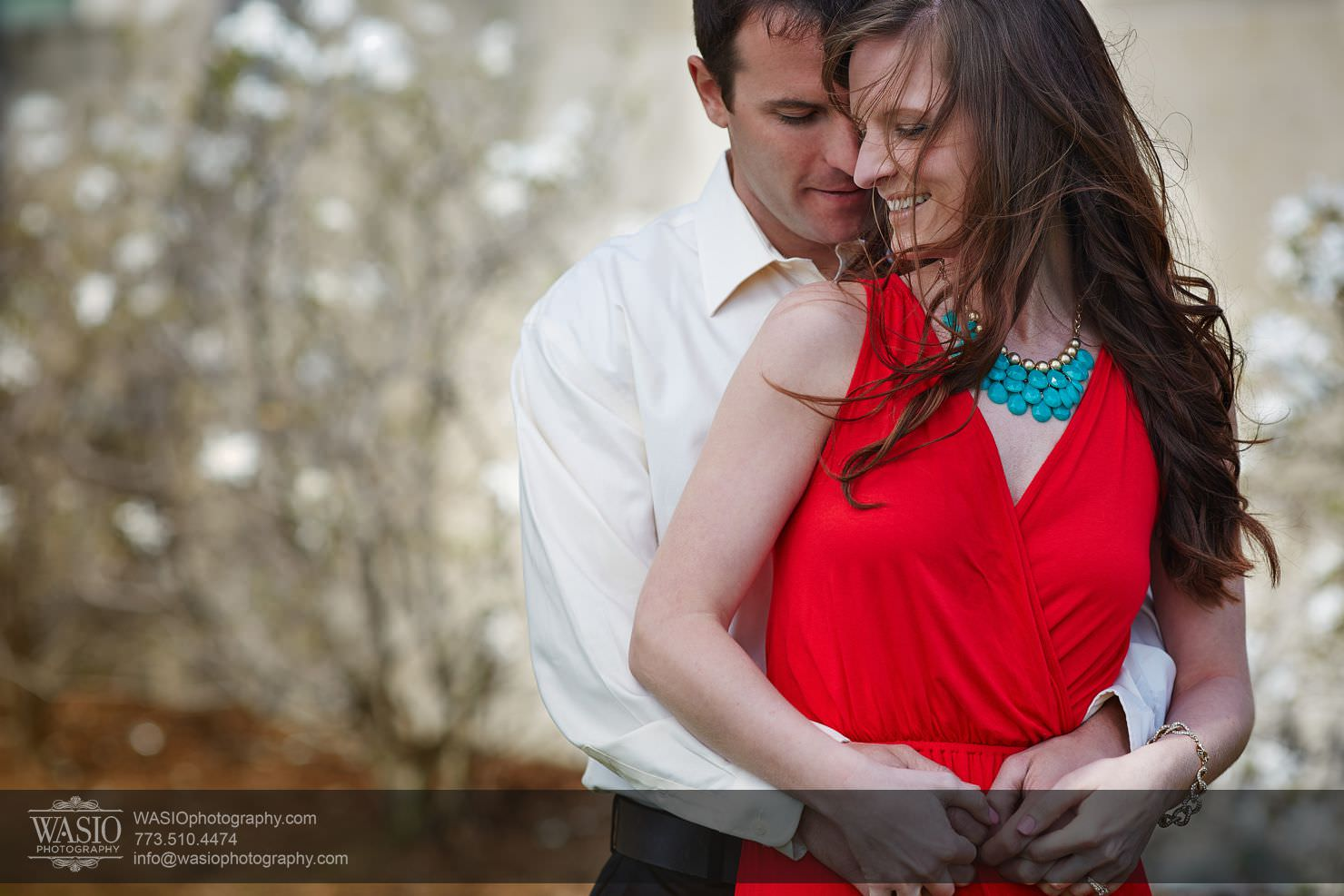 Roscoe Village Engagement – Amy + Kyle