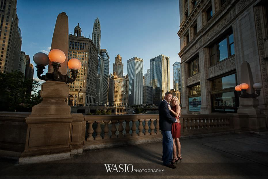 Chicago Classic Engagement – Kelly and Steven