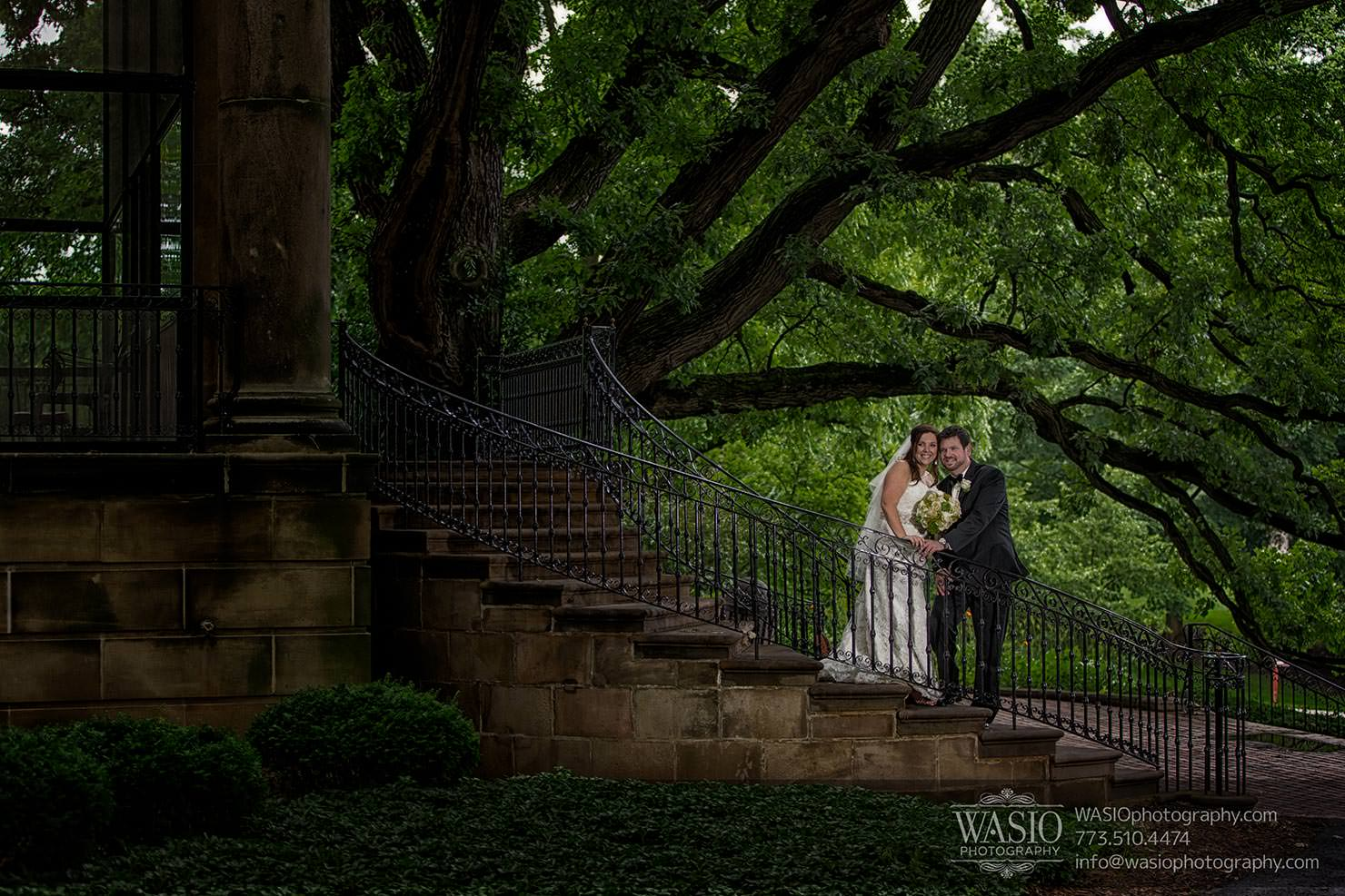 Cantigny Park Wedding – Danielle+David