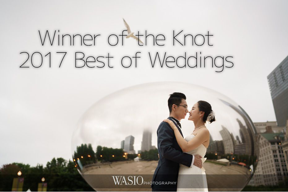 Winner of The Knot 2017 Best of Weddings