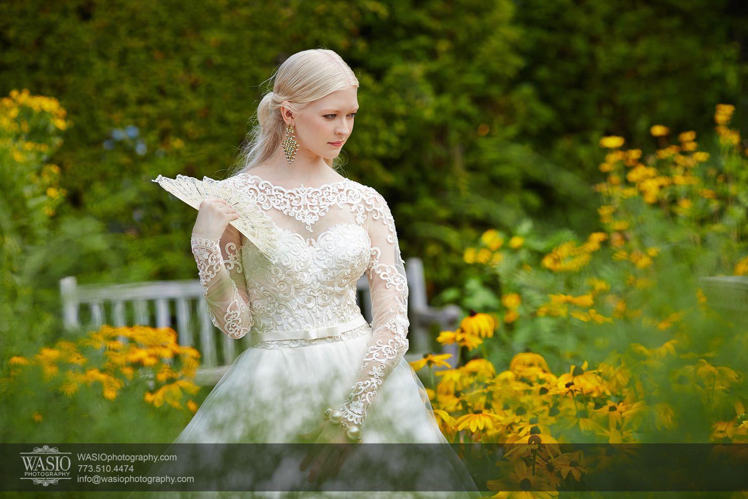 Chicago Botanic Garden – Classy Bride