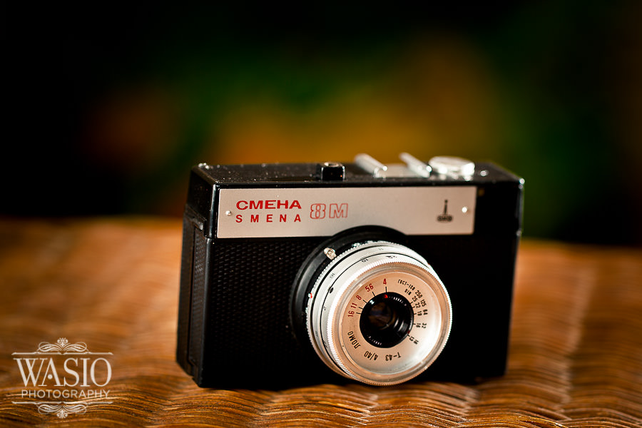 Russian Cmena 8 – my first camera