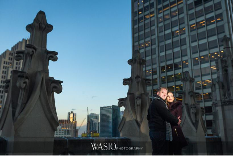 Evening Engagement Photos – Izabela and Marcin