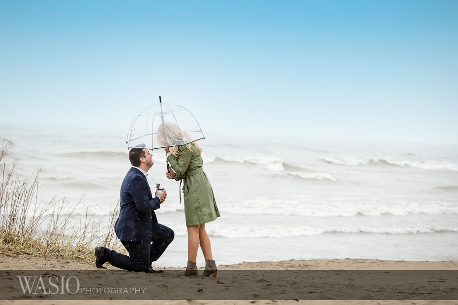 Surprise Beach Proposal – Paula + Josh